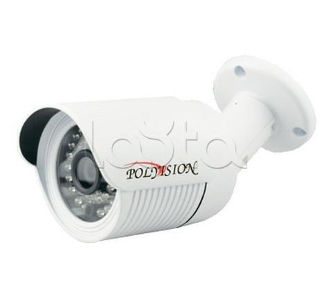 Polyvision PN-IP2-B3.6P v.2.5.4, IP-камера видеонаблюдения уличная в стандартном исполнении Polyvision PN-IP2-B3.6P v.2.5.4