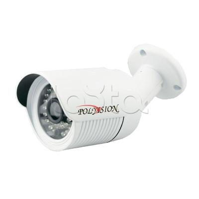 Polyvision PN-IP4-B3.6 v.2.1.4, IP-камера видеонаблюдения уличная в стандартном исполнении Polyvision PN-IP4-B3.6 v.2.1.4