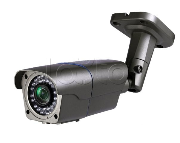 Polyvision PNL-IP2-V50PL v.9.5.7 dark (PN9-IP2-V50PL), IP-камера видеонаблюдения уличная в стандартном исполнении Polyvision PNL-IP2-V50PL v.9.5.7 dark (PN9-IP2-V50PL)