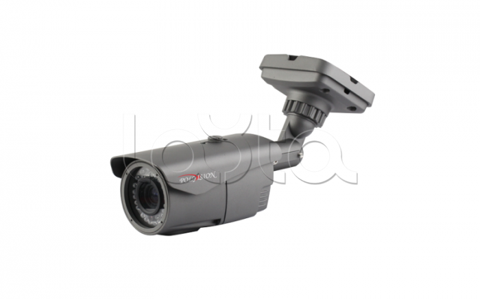 Polyvision PNM-IP1-V12PL v.9.1.7 dark, IP-камера видеонаблюдения уличная в стандартном исполнении Polyvision PNM-IP1-V12PL v.9.1.7 dark