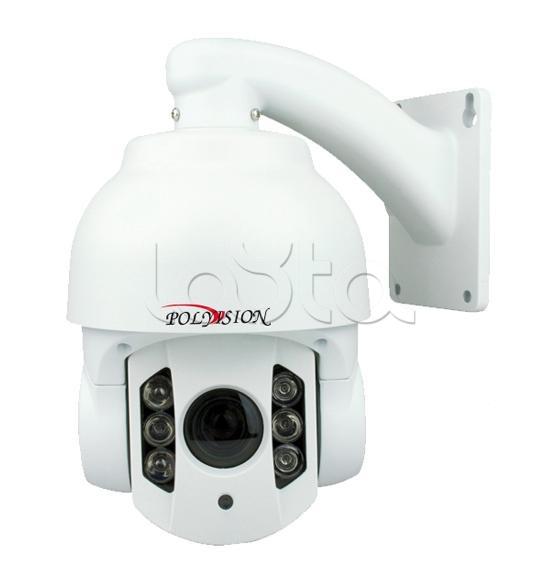 Polyvision PS-IP1.3-Z10 v.2.3.2 (PS9-IP13-Z10 v.2.52), IP-камера видеонаблюдения PTZ уличная Polyvision PS-IP1.3-Z10 v.2.3.2 (PS9-IP13-Z10 v.2.52)