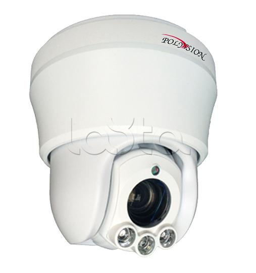 Polyvision PS1-IP1.3-Z10 v.2.3.1 (PS91-IP13-Z10 v.2.52), IP-камера видеонаблюдения PTZ Polyvision PS1-IP1.3-Z10 v.2.3.1 (PS91-IP13-Z10 v.2.52)