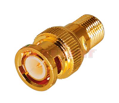 Переход гнездо F - штекер BNC GOLD (50шт/уп) PROCONNECT 05-3201-1