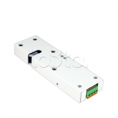Promix-SM323.10.1-01 (белый), Замок электромеханический с толкателем и датчиком положения двери Promix-SM323.10.1-01 (белый)