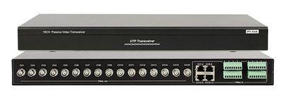 Приемопередатчик видеосигнала пассивный, 16 канальный, по витой паре PV-Link PV-1601R