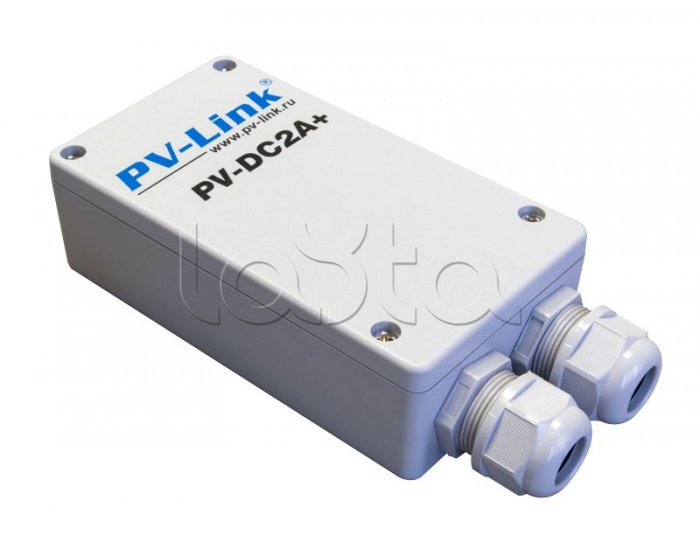 PV-Link PV-DC2Aplus, Блок питания уличного исполнения 12В 2А с герметичным отсеком для коммутации PV-Link PV-DC2A+