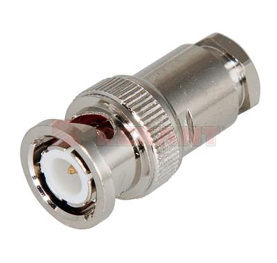 Разъем штекер BNC RG-59 пайка (01-006B) (100шт/уп) REXANT 05-3012
