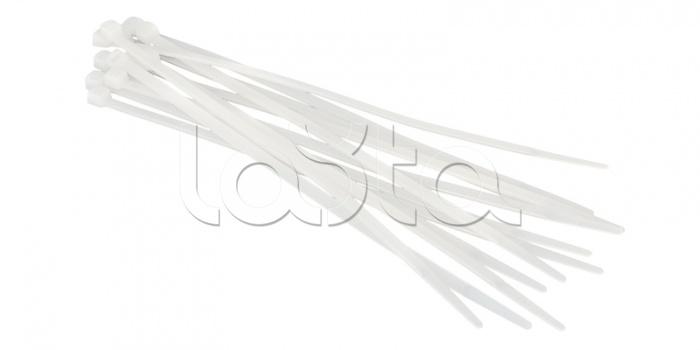 REXANT 07-0200-4-1, Хомут-стяжка нейлоновый 200x3 мм белая (100шт/уп) REXANT 07-0200-4-1