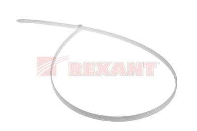 Хомут-стяжка нейлоновый 9х700 мм белый (100шт/уп) REXANT 07-0700-9