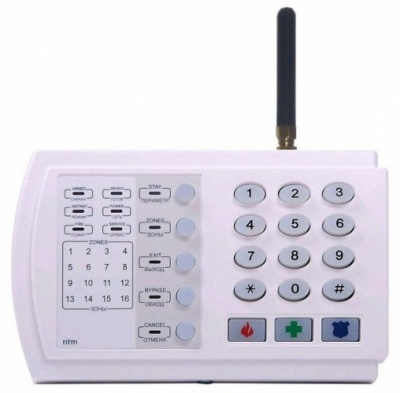 Охранно-пожарная панель Ritm Контакт GSM-9 с внешней антенной (версия 2)