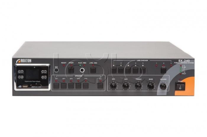 ROXTON SX-240, Система оповещения автоматическая ROXTON SX-240