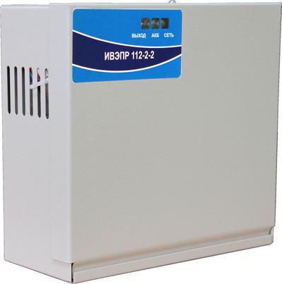 Источник питания резервированный Рубеж ИВЭПР 112-2-2-1к-Т (к3)