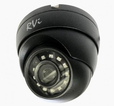 Камера видеонаблюдения купольная RVi-1ACE102 (2.8) black