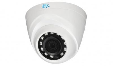 Камера видеонаблюдения купольная RVi-1ACE400 (2.8) white