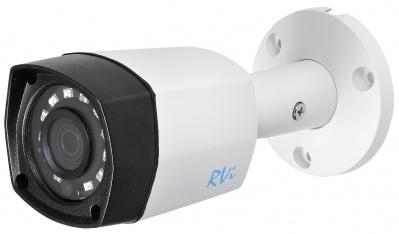 Камера видеонаблюдения в стандартном исполнении RVI-1ACT102 (2.8) white