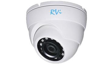 IP-камера видеонаблюдения купольная RVi-1NCE2060 (2.8) white