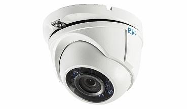 Камера видеонаблюдения купольная уличная RVi-HDC321 (2.8)