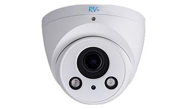 IP-камера видеонаблюдения уличная купольная RVI-IPC34VDM4