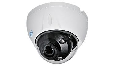 IP-камера видеонаблюдения купольная RVI-IPC34VM4 V.2