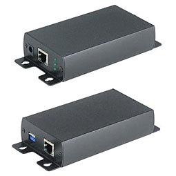 Удлинитель Ethernet, активный повитой паре SC&T IP03