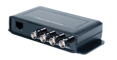 Приемопередатчик 4-х видеосигналов по витой паре, до 600 м SC&T TTP414VH