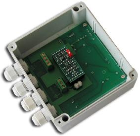 Передатчик видеосигнала по витой паре с грозозащитой Себокс СУ-1-УСГ