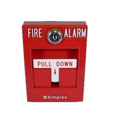 Извещатель пожарный ручной безадресный Simplex 2099-9755
