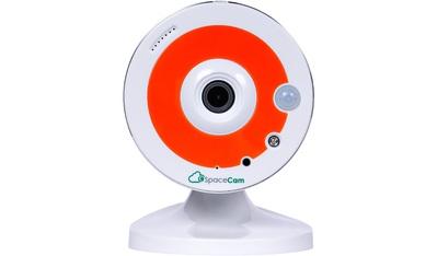 IP-камера видеонаблюдения миниатюрная SpaceCam F1 Orange