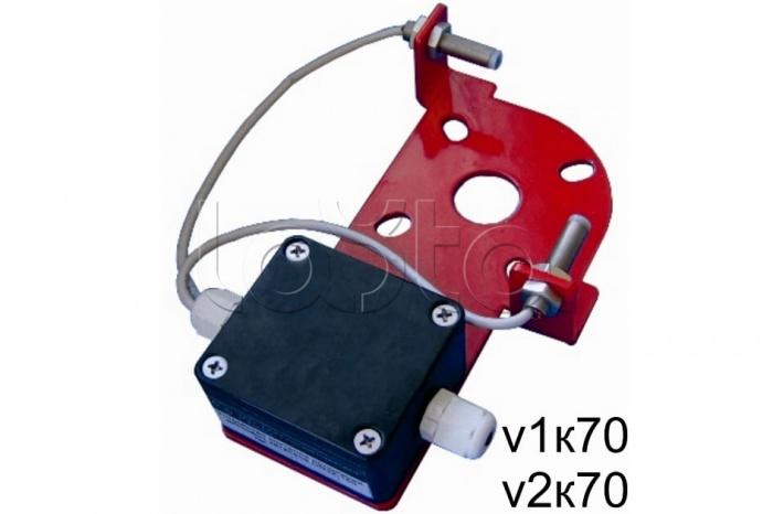 Спецавтоматика Устройство контроля положения дисковых затворов (адресное) DN32-250 тип V3 К102, Устройство контроля положения дисковых затворов (адресное) DN32-250 тип V3 К102 Спецавтоматика