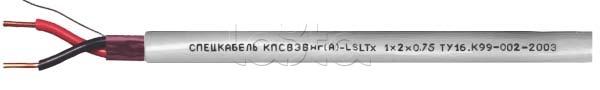 Спецкабель КПСВЭВнг(А)-LSLTx 1x2x0.75 -  купить, цена, описание, фото. Продажа Кабель симметричный, низкотоксичный, групповой прокладки  для систем сигнализации и управления КПСВЭВнг(А)-LSLTx 1x2x0.75 Спецкабель на Layta.ru