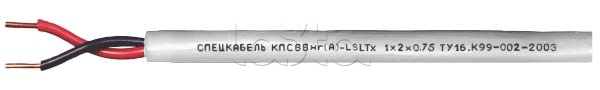 Спецкабель КПСВВнг(А)-LSLTx 1x2x0.75 -  купить, цена, описание, фото. Продажа Кабель пожаробезопасный, низкотоксичный, групповой прокладки, для систем сигнализации и управления  КПСВВнг(А)-LSLTx 1x2x0.75 Спецкабель на Layta.ru