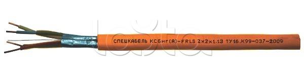 Спецкабель КСБнг(А)-FRLS 2x2x0.98, Кабель огнестойкий, экранированный, групповой прокладки, для систем безопасности и промышленной автоматизации КСБнг(А)-FRLS 2x2x0.98 Спецкабель (200 м)