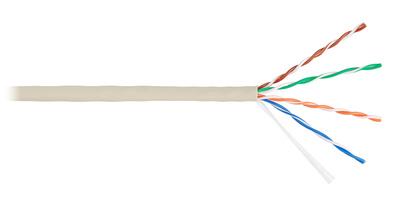 Кабель симметричный, групповой прокладки, с пониженным дымо- и газовыделениемдля локальных компьютерных сетей LAN UTP 4x2x0.52 кат.5е нг(А)-LS (КВПнг(А)-LS-5е 4x2x0.52) Спецкабель