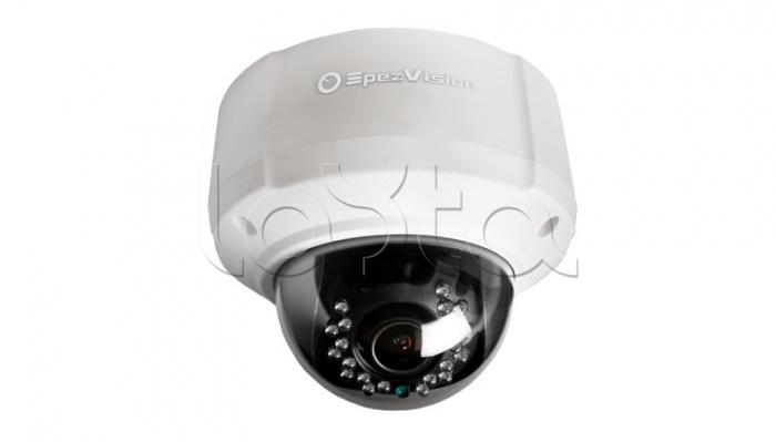 SpezVision SVI-254B, IP-камера видеонаблюдения купольная SpezVision SVI-254B