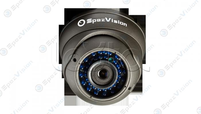 SpezVision SVI-352B, IP-камера видеонаблюдения уличная купольная SpezVision SVI-352B