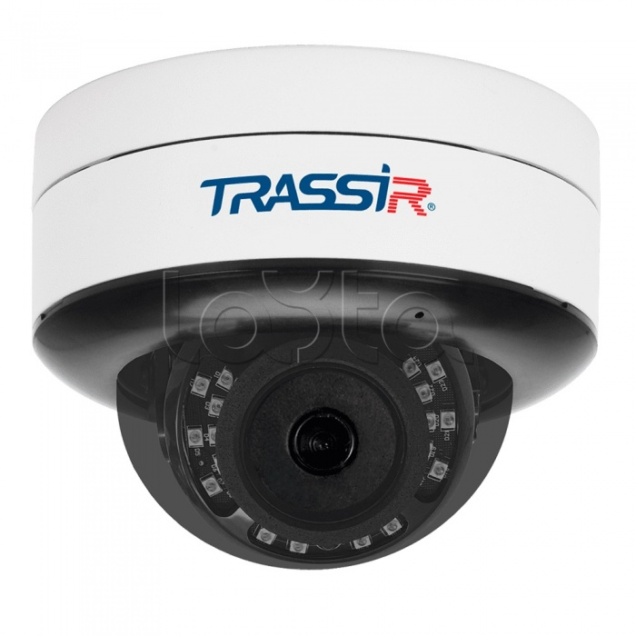 TRASSIR TR-D3121IR2 v6 (3.6 мм), IP-камера видеонаблюдения купольная TRASSIR TR-D3121IR2 v6 (3.6 мм)
