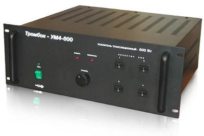 Усилитель высокой мощности ТРОМБОН-УМ4-600