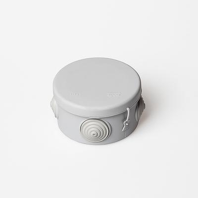 Коробка распределительная  для открытой проводки, d80x50 Tyco 67025