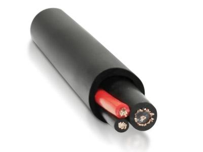 Кабель комбинированный, для систем видеонаблюдения, одиночной прокладки КВК-2П 2x0,5 (200 м) VIM™