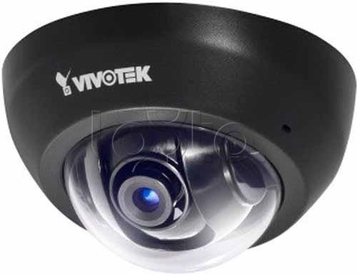 Vivotek FD8136-F6 (BLACK), IP-камера видеонаблюдения купольная Vivotek FD8136-F6 (BLACK)