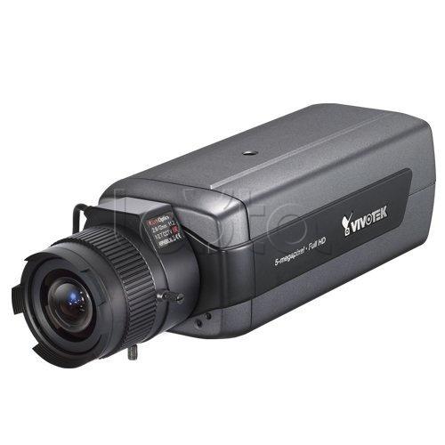 Vivotek IP8172 (no lens), IP-камера видеонаблюдения в стандартном исполнении Vivotek IP8172 (no lens)